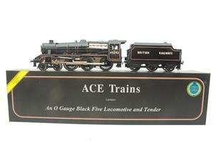 Ace Trains O Gauge E19-K British Railways Black Five Loco & Tender R/N 45292 Elec 2/3 Rail Bxd image 1