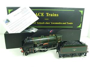 "Ace Trains O Gauge E10 BR Gloss Lined Green Schools Class ""Charterhouse"" R/N 30903 Elec 2/3 Rail Bxd image 2"