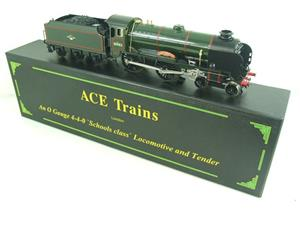 "Ace Trains O Gauge E10 BR Gloss Lined Green Schools Class ""Charterhouse"" R/N 30903 Elec 2/3 Rail Bxd image 3"