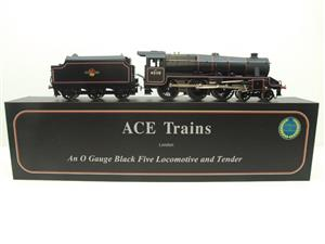 Ace Trains O Gauge E19-D4 Late BR Gloss Black 5, 4-6-0 Loco & Tender R/N 45110 Elec 2/3 Rail NEW Bxd image 1