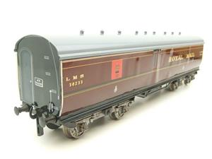 "Ace Trains Wright Overlay Series O Gauge LMS ""TPO"" Coach R/N 30233 Boxed image 2"