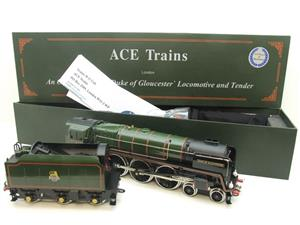 "ACE Trains O Gauge E/31A BR Class 8P 4-6-2 Pre 56 ""Duke of Gloucester"" R/N 71000 Electric 2/3 Rail image 3"