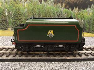 "Ace Trains O Gauge E/18-TD1 ""BR"" Early Logo"" Gloss Lined Green Early Logo Riveted Tender Brand NEW image 1"