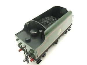 "Ace Trains O Gauge E/18-TD1 ""BR"" Early Logo"" Gloss Lined Green Early Logo Riveted Tender Brand NEW image 9"