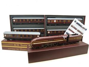 "Ace Trains E12B1 Coronation Pacific LMS Maroon ""Duchess of Hamilton & x7 Coaches Set"" Elec 2/3 Rail image 1"