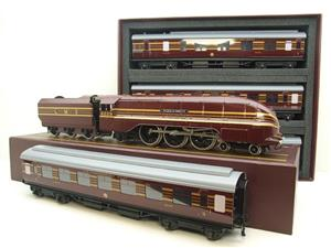 "Ace Trains E12B1 Coronation Pacific LMS Maroon ""Duchess of Hamilton & x7 Coaches Set"" Elec 2/3 Rail image 4"