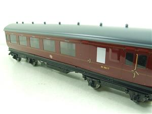 Darstaed O Gauge BR Maroon Period 2 Mainline Coaches x3 Set Bxd 2/3 Rail Set A image 4