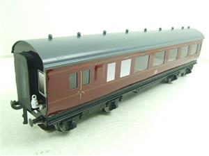 Darstaed O Gauge BR Maroon Period 2 Mainline Coaches x3 Set Bxd 2/3 Rail Set A image 5