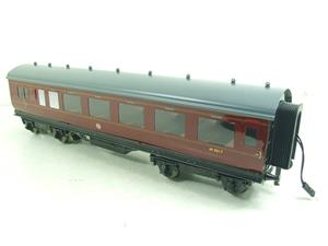 Darstaed O Gauge BR Maroon Period 2 Mainline Coaches x3 Set Bxd 2/3 Rail Set A image 6