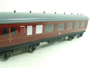 Darstaed O Gauge BR Maroon Period 2 Mainline Coaches x3 Set Bxd 2/3 Rail Set A image 7