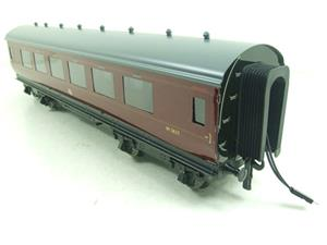 Darstaed O Gauge BR Maroon Period 2 Mainline Coaches x3 Set Bxd 2/3 Rail Set A image 9
