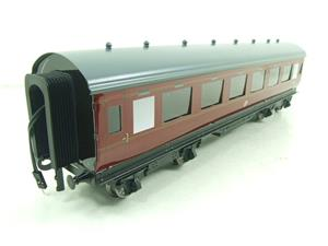 Darstaed O Gauge BR Maroon Period 2 Mainline Coaches x3 Set Bxd 2/3 Rail Set A image 10