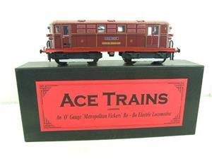 "Ace Trains O Gauge E17 London Transport Red Named ""Sarah Siddons"" Bo Bo Loco No 12 Electric 2/3 Rail image 1"