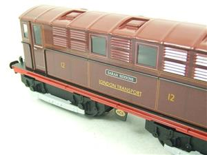 "Ace Trains O Gauge E17 London Transport Red Named ""Sarah Siddons"" Bo Bo Loco No 12 Electric 2/3 Rail image 7"