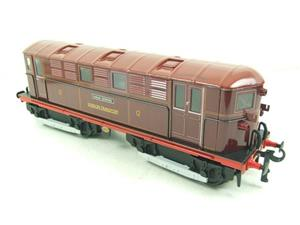 "Ace Trains O Gauge E17 London Transport Red Named ""Sarah Siddons"" Bo Bo Loco No 12 Electric 2/3 Rail image 9"