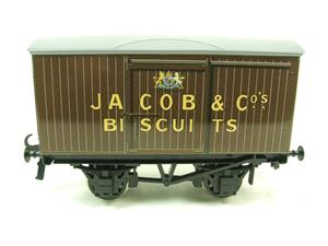 "Ace Trains O Gauge Tinplate Private Owned ""Jacob & Co Biscuits"" Van image 1"