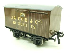 "Ace Trains O Gauge Tinplate Private Owned ""Jacob & Co Biscuits"" Van image 3"