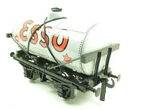 "Ace Trains O Gauge G1 Four Wheel ""Esso"" Grey Fuel Tanker Tinplate image 8"