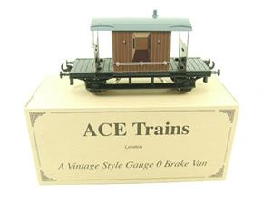 Ace Trains O Gauge G4 Vintage Style Brake Van With Lighting Boxed image 1