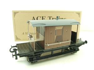 Ace Trains O Gauge G4 Vintage Style Brake Van With Lighting Boxed image 2