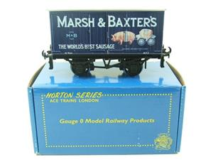 "ACE Trains Horton Series O Gauge Private Owner ""Marsh's Sausage"" Van R/N 3 Boxed image 1"