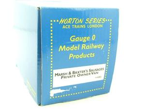 "ACE Trains Horton Series O Gauge Private Owner ""Marsh's Sausage"" Van R/N 3 Boxed image 9"