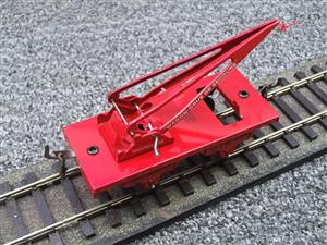 "Hornby Hachette Series French O Gauge 10 Ton ""Red Crane Truck"" Wagon NEW Boxed image 7"