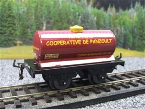 "Hornby Hachette Series French O Gauge ""Vins Fins Cooperative De Panzoult"" Tanker Wagon NEW Boxed image 3"