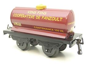"Hornby Hachette Series French O Gauge ""Vins Fins Cooperative De Panzoult"" Tanker Wagon NEW Boxed image 4"