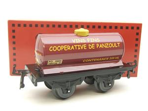 "Hornby Hachette Series French O Gauge ""Vins Fins Cooperative De Panzoult"" Tanker Wagon NEW Boxed image 10"