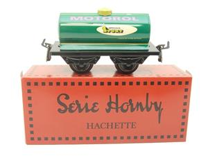 "Hornby Hachette Series French O Gauge ""MOTOROL"" Green Tanker Wagon NEW Boxed image 1"