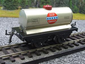 "Hornby Hachette Series French O Gauge ""ECO Essence"" Silver Tanker Wagon NEW Boxed image 2"