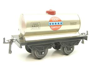 "Hornby Hachette Series French O Gauge ""ECO Essence"" Silver Tanker Wagon NEW Boxed image 4"