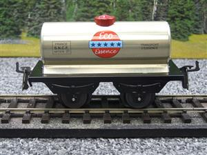 "Hornby Hachette Series French O Gauge ""ECO Essence"" Silver Tanker Wagon NEW Boxed image 5"