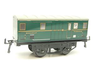"Hornby Hachette Series French O Gauge ""ETAT"" Green Luggage - Baggage Coach NEW Boxed image 4"