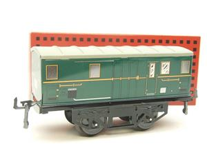 "Hornby Hachette Series French O Gauge ""ETAT"" Green Luggage - Baggage Coach NEW Boxed image 10"