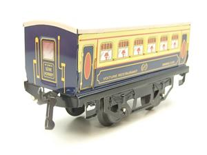 "Hornby Hachette Series French O Gauge Blue & Cream ""Pullman"" Restaurant Dining Coach NEW Boxed image 2"