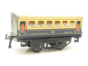 "Hornby Hachette Series French O Gauge Blue & Cream ""Pullman"" Restaurant Dining Coach NEW Boxed image 4"