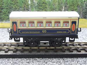 "Hornby Hachette Series French O Gauge Blue & Cream ""Pullman"" Restaurant Dining Coach NEW Boxed image 5"