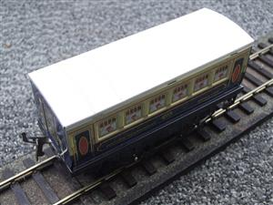 "Hornby Hachette Series French O Gauge Blue & Cream ""Pullman"" Restaurant Dining Coach NEW Boxed image 7"