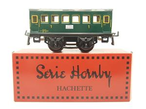 "Hornby Hachette Series French O Gauge ""SNCF"" Green 1st Class Coach NEW Boxed image 1"