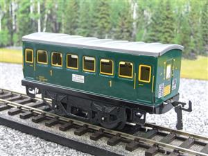 "Hornby Hachette Series French O Gauge ""SNCF"" Green 1st Class Coach NEW Boxed image 3"