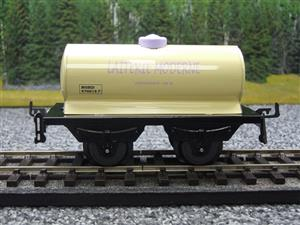 "Hornby Hachette Series French O Gauge Nord ""Laiterie Moderne"" White Tanker Wagon NEW Boxed image 5"