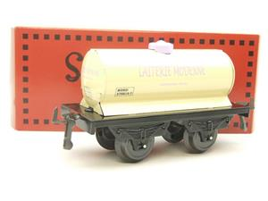 "Hornby Hachette Series French O Gauge Nord ""Laiterie Moderne"" White Tanker Wagon NEW Boxed image 10"