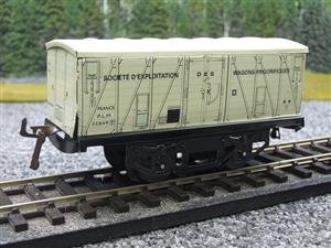 "Hornby Hachette Series French O Gauge White PLM ""Refrigerator"" Van Frigorifiques Wagon NEW Boxed image 3"