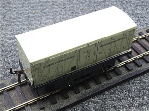 "Hornby Hachette Series French O Gauge White PLM ""Refrigerator"" Van Frigorifiques Wagon NEW Boxed image 8"