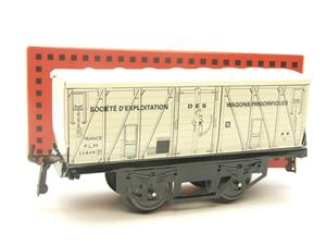 "Hornby Hachette Series French O Gauge White PLM ""Refrigerator"" Van Frigorifiques Wagon NEW Boxed image 10"