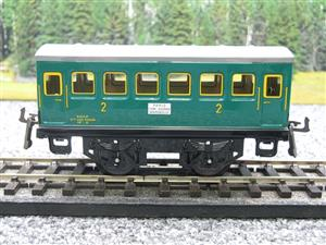 "Hornby Hachette Series French O Gauge ""SNCF"" Green 2nd Class Coach NEW Boxed image 5"