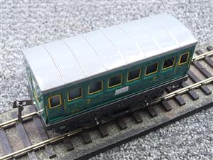 "Hornby Hachette Series French O Gauge ""SNCF"" Green 2nd Class Coach NEW Boxed image 7"