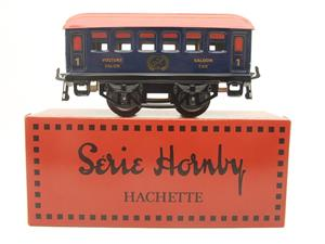 "Hornby Hachette Series French O Gauge Blue Red Roof ""Saloon"" 1st Class Coach NEW Boxed image 1"